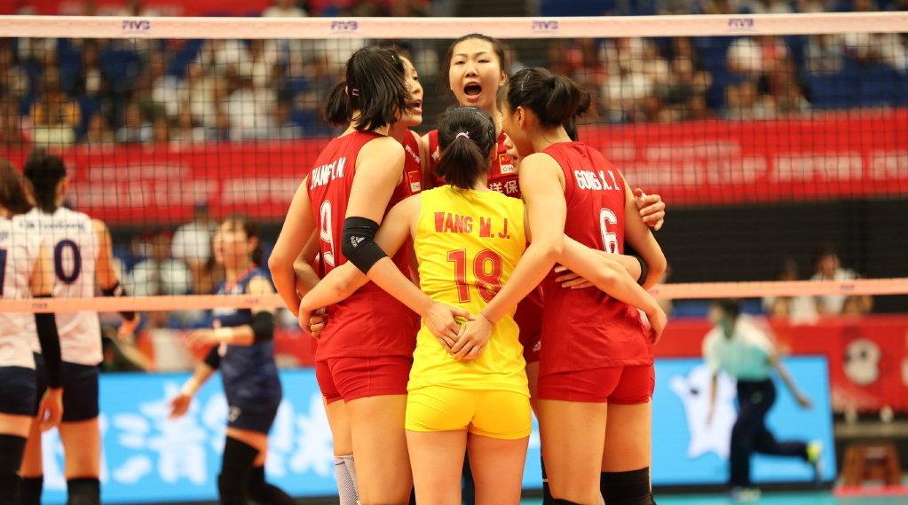 回顾2019女排世界杯,中国3-0韩国精彩十佳球