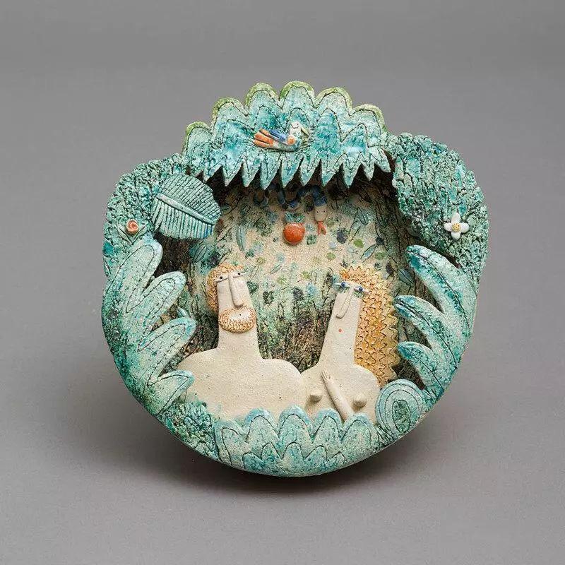 陶瓷的艺术 来自~米歇尔·法布里卡托雷( Michele Fabbricatore)