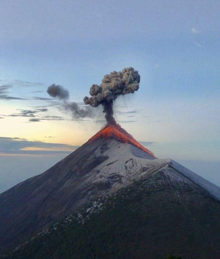 火山喷发的时间到了——(今日摄影)