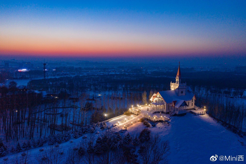 看雪不必去雪乡,哈尔滨郊外就藏着最纯正的俄罗斯风情