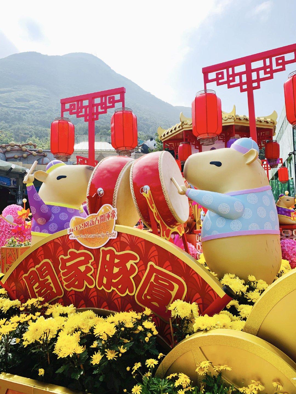 下周五就是春节,我已经订好票准备带小羊羊去香港海洋公园玩啦