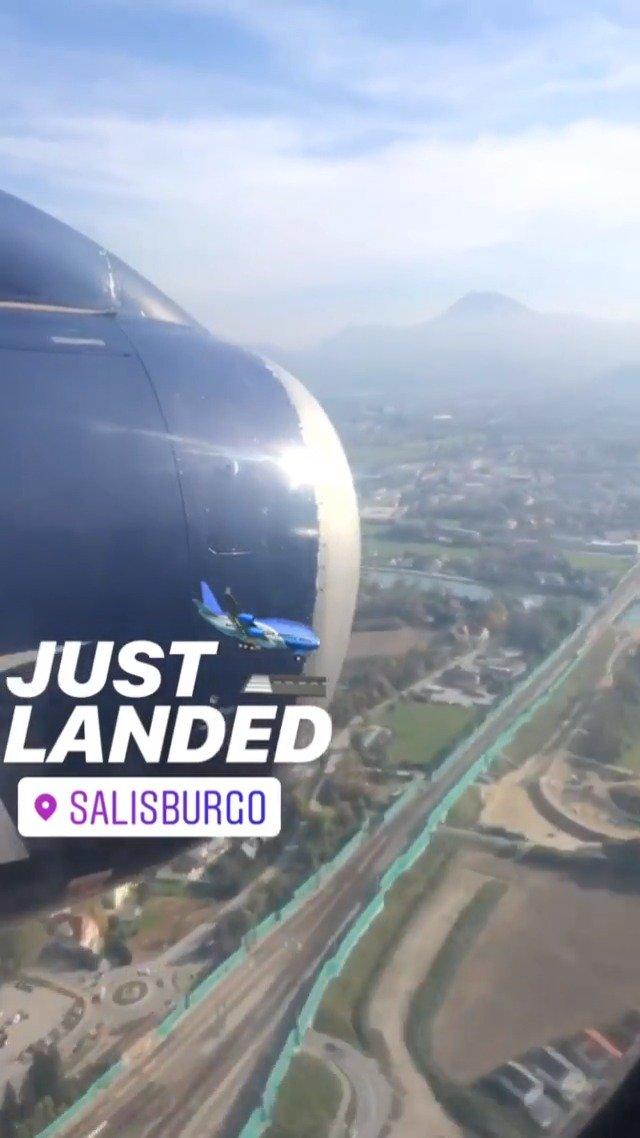 安全降落,我们来到了萨尔茨堡!@tony浩哥