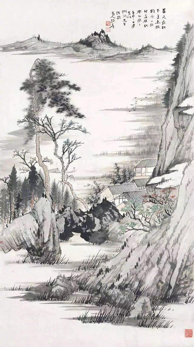 张大千 | 中国画与西洋画最高的境界是一样的