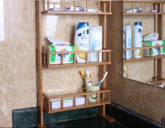 卫生间装修不要设计置物架了,如今聪明人都这样做收纳,太实用了