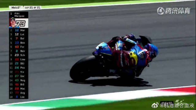 遥遥领先!Alex霸气冲线拿到Moto2第五个分站赛冠军