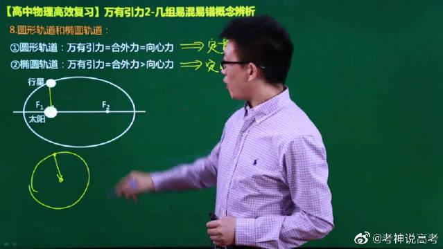 高中物理复习:万有引力2几组易混易错概念辨析2