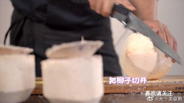椰子鸡,很多人都没喝过的养颜汤,做法超简单!美容又养颜