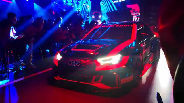伴随轰鸣的噪音,Audi Sport精彩开场