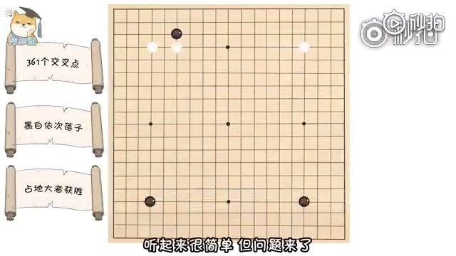 4分钟了解围棋规则,小伙伴们学一下吧!更多精彩内容