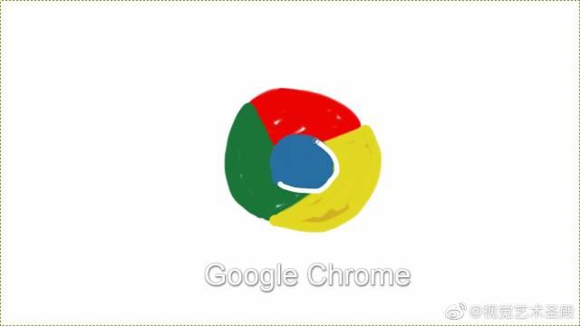 GIMP Chrome画谷歌浏览器标志!开始觉得有点糙啊~哈哈!