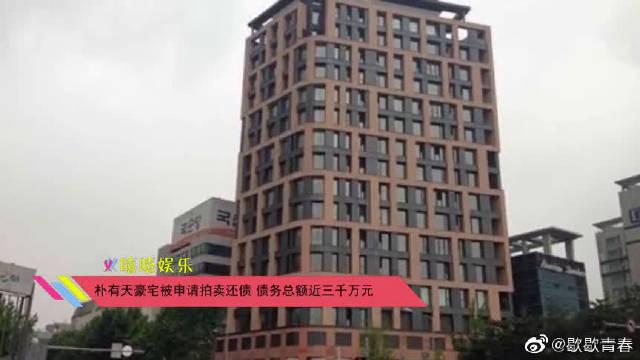 朴有天豪宅被申请拍卖还债,债务总额近三千万元