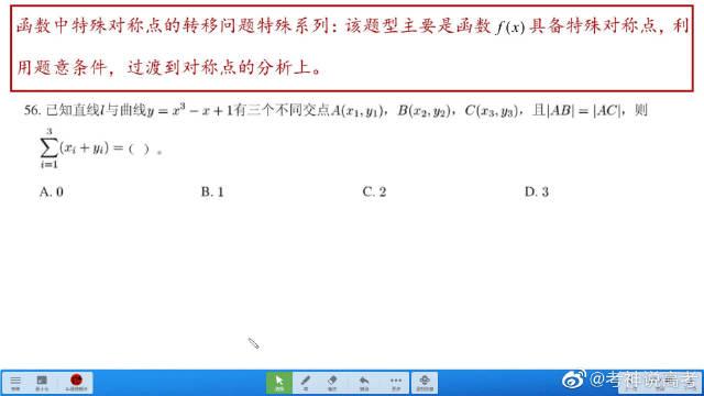 高中数学知识复习:函数对称点转移系列!