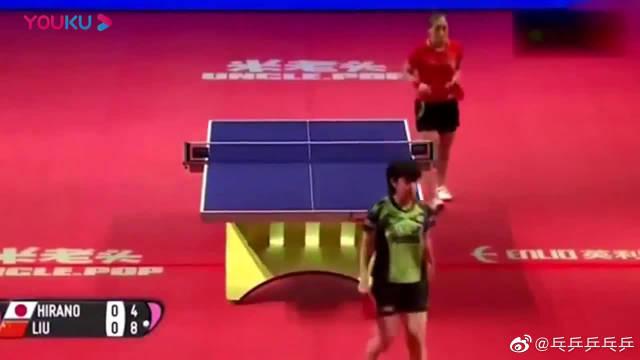 刘诗雯把平野美宇虐的直接哭了!继福原爱之后又一乒乓球手哭了!