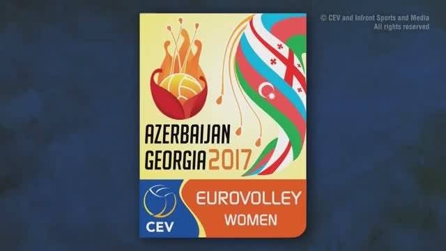 2017年女排欧锦赛三四名决赛,土耳其3-1阿塞拜疆,全场回放
