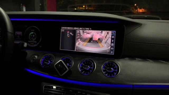 奔驰CLS改装 奔驰原厂360全景摄像系统 演示视频