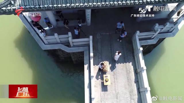 """广济桥再现""""一里长桥一里市"""""""