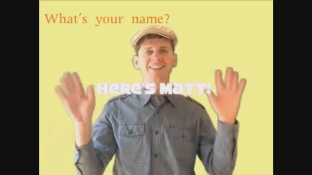 外教常用美国双语幼儿园蛐蛐幼儿学科英语课堂歌曲打招呼问名字