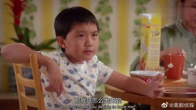 小儿子:那我是怎么出生的?华裔大姐:就是喝多了