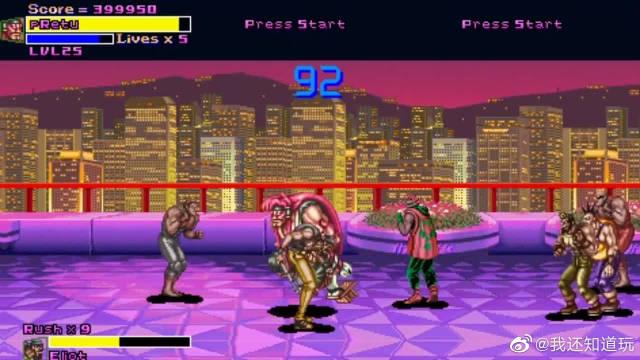 《快打旋风》疯狂版:能选战斗力高达999的木屐大佬