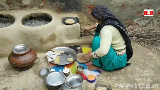 哈里亚纳邦农村生活纪录--清晨的日常,值得一看!