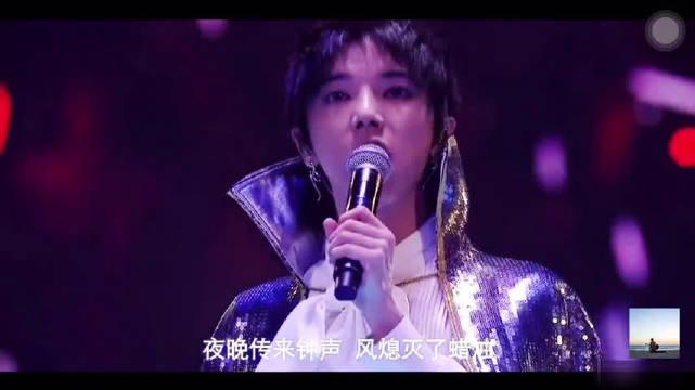 华晨宇超惊艳的6分钟表演,如梦如幻