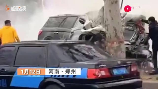 视频:1月12日,河南郑州,男子王某到林肯公园4S店试驾豪车领航员