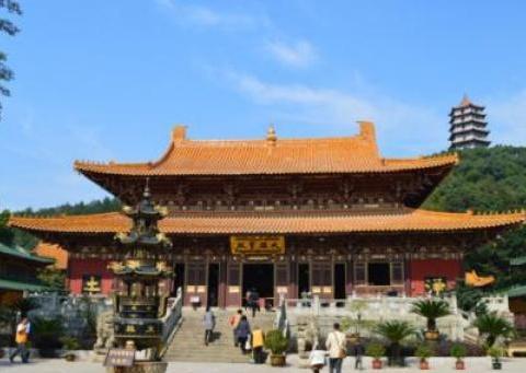 东林寺不要门票,免费提供香火,禁止女游客穿短裙、短裤朝拜大佛