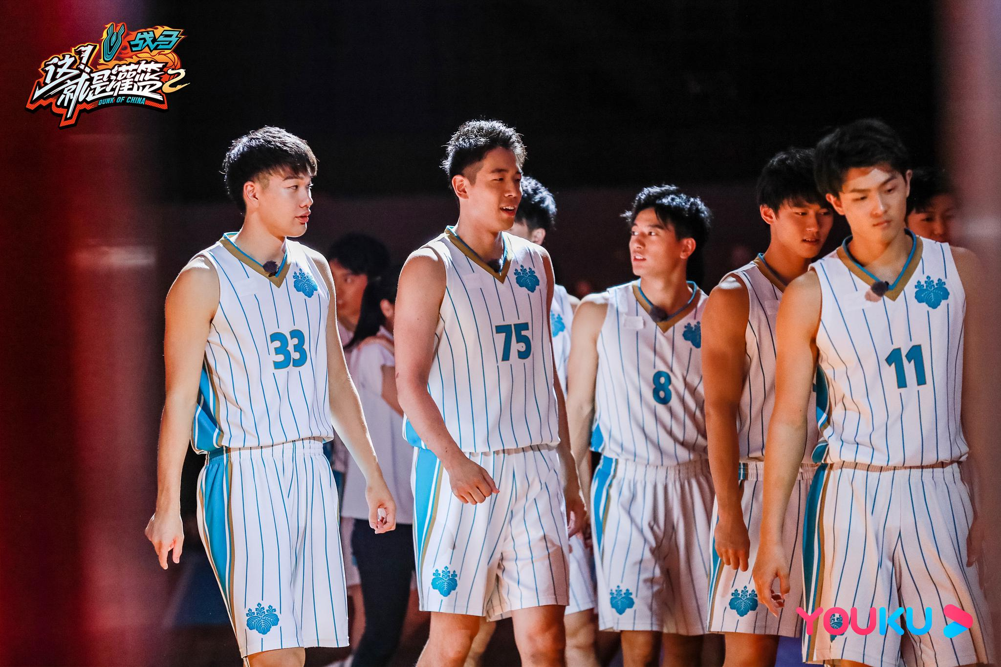 拍到了拍到了!日本筑波大学的球员们列队一站