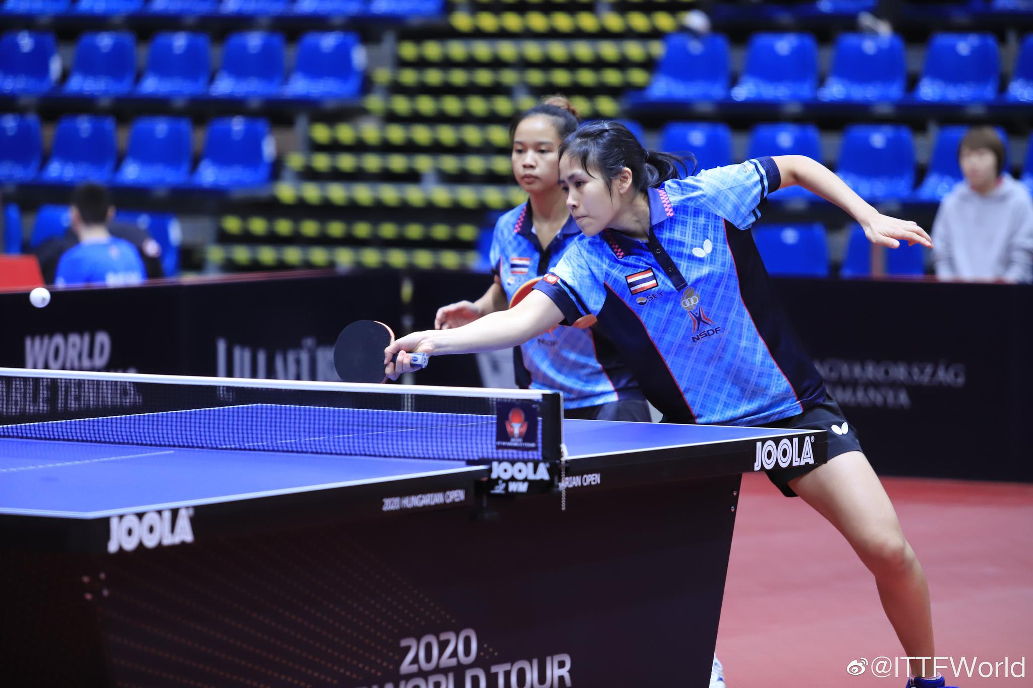 女双1/4决赛,泰国组合巴拉南/萨维塔布特发挥出色