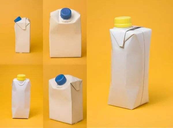 为啥大多饮料瓶是圆的,牛奶瓶是方的