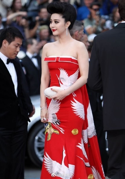 范冰冰 | 戛纳红毯上最浓墨重彩的中国身影