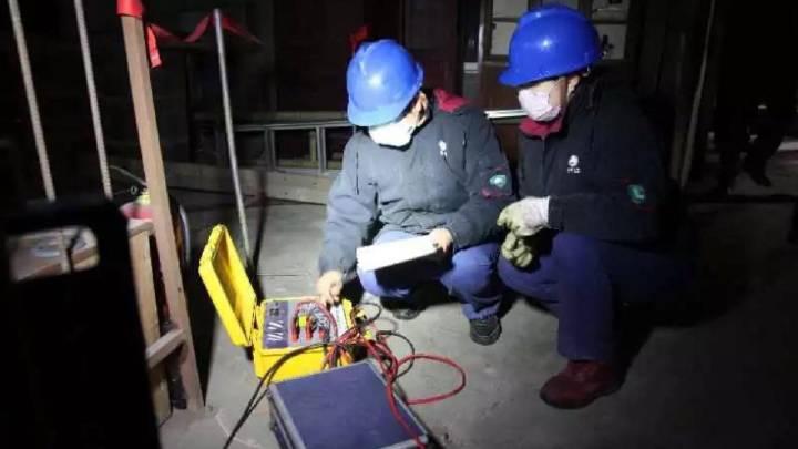 8小时!供电公司抢修故障保供电