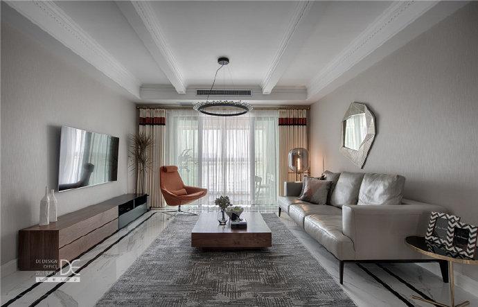 134平米现代摩登风格家居设计