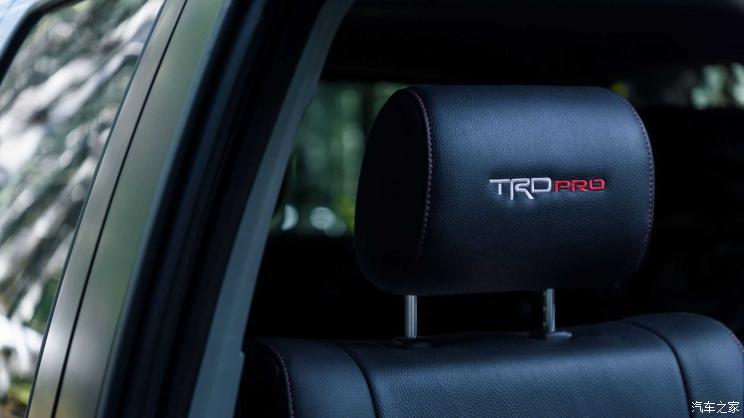旧瓶添新酒 丰田红杉推出TRD Pro车型