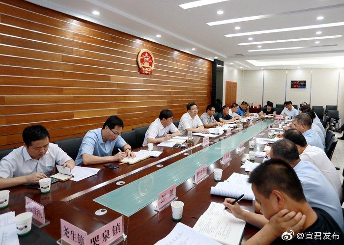 县政府第20次党组(扩大)会议专题研究省委书记胡和平来铜调研讲话贯