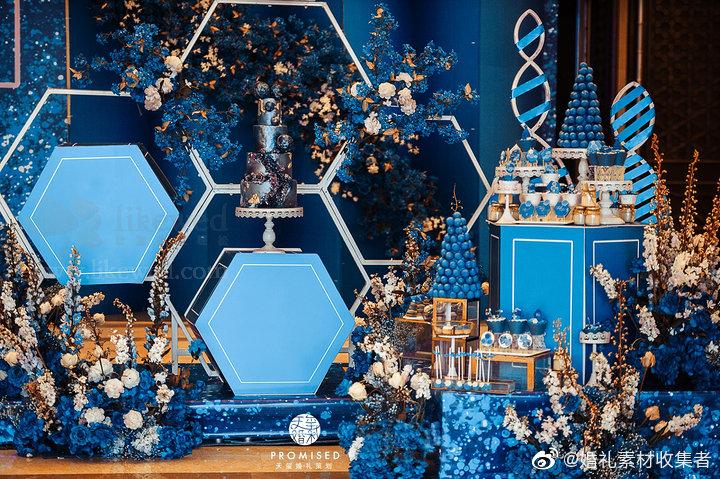 蓝色多巴胺