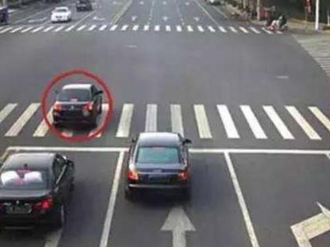 误闯红灯压线不要倒车了,只要用这一招基本不会扣分,后悔才知道
