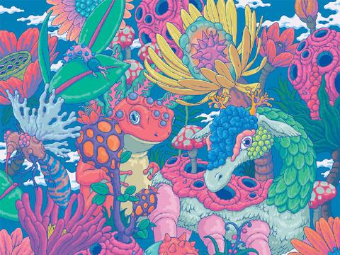 SOGO Hong Kong 艺术插画  by:SANGHO BANG