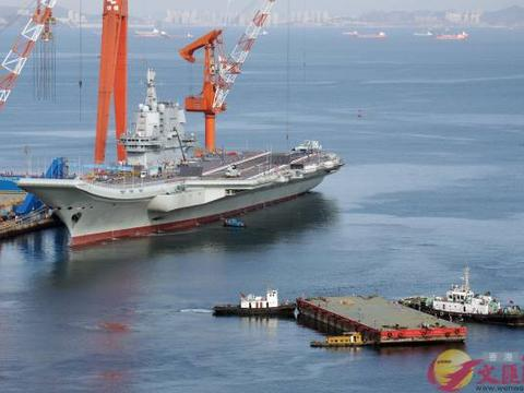 台军方称大陆国产航母进入台湾海峡