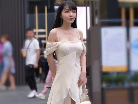 齐肩短发的美女,短裤穿搭个性而又优雅
