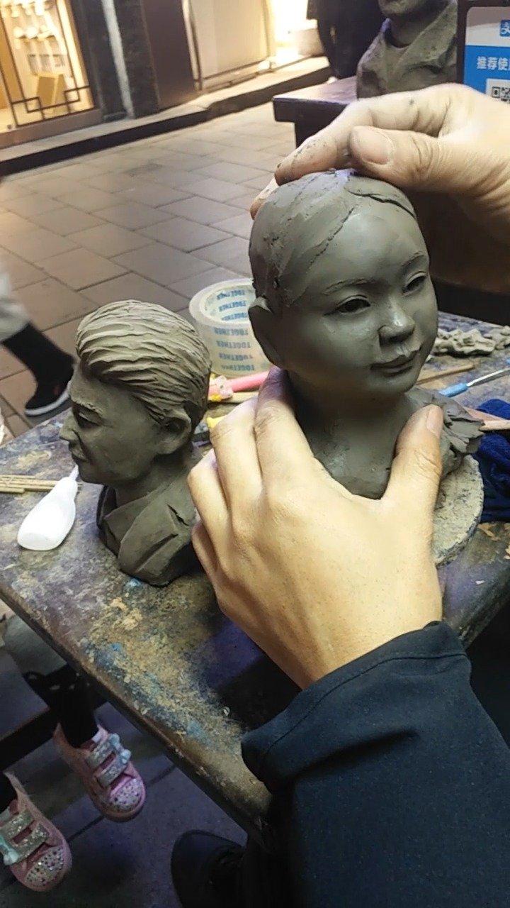 自新石器时代之后,中国泥塑艺术一直没有间断