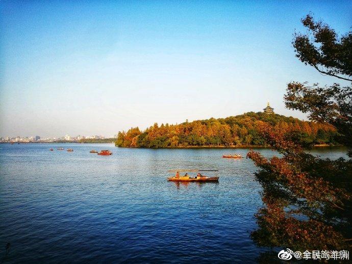西湖边的秋色无边 : @拿铁与非洲