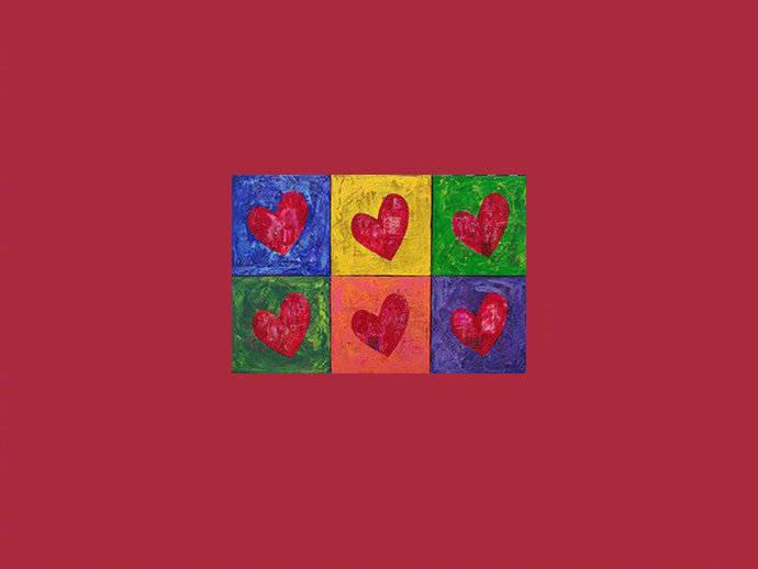 """""""""""""""I LOVE U""""来自安迪·沃霍尔的浪漫"""