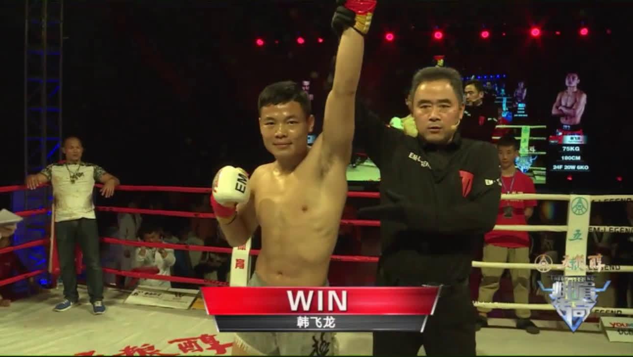 资阳站比赛,@太极韩飞龙 主场对阵伊朗泰拳冠军马苏德