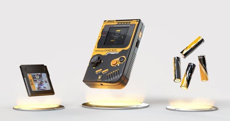 暴雪艺术家设计《守望先锋》主题Game Boy