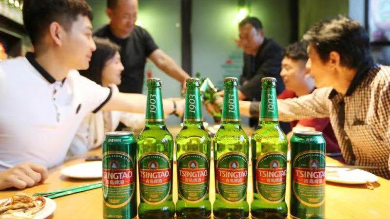 """青岛啤酒2019中报业绩""""高光"""",销量、营收、利润三增长"""