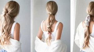 5款温柔不失性感的扎发