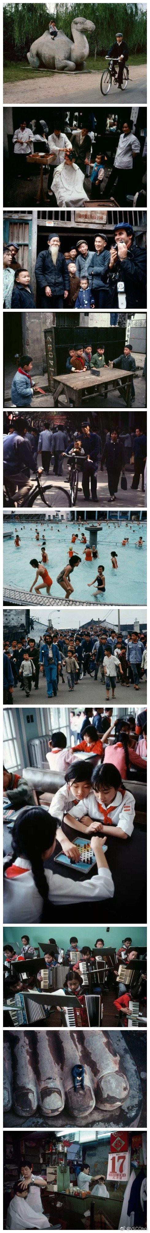 马格南摄影师布鲁诺·巴贝镜头下的中国