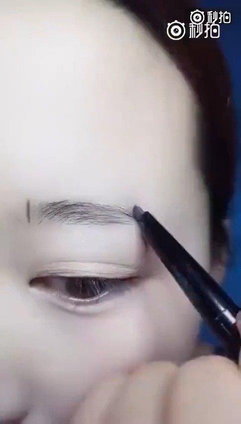 简单几步就能画出高颜值的眉毛,手残星人也包学包会的技能