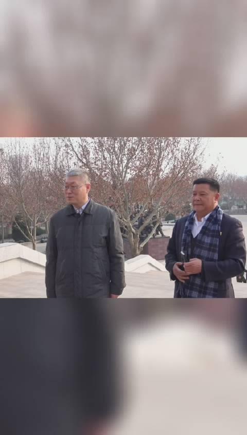 大年廿九,市文旅局副局长徐恒秋,桑占良处长